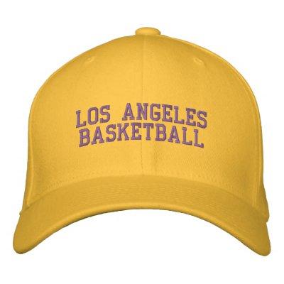 L.A.  BASKETBALL BASEBALL CAP