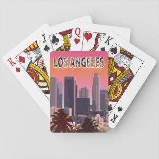 L.A. céntrico Baraja De Póquer