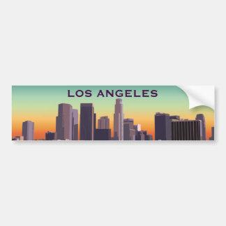 L.A. céntrico Pegatina Para Auto