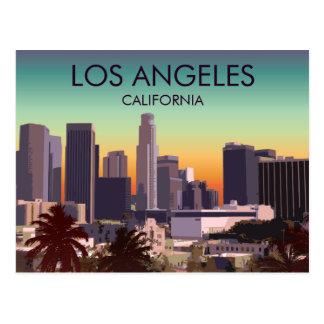 L.A. céntrico Tarjeta Postal