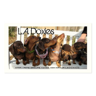 L.A.Doxies [leo+polie] Business Card