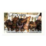 L.A.Doxies [leo+polie] Tarjetas De Visita