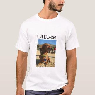 L.A.Doxies Logo1 - Portrait Mens T-Shirt