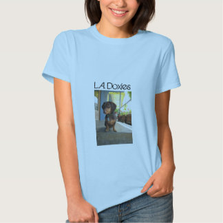 L.A.Doxies Logo1 - Portrait Womens T-shirt