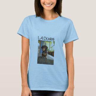 L.A.Doxies Logo1 - Portrait Womens T-Shirt