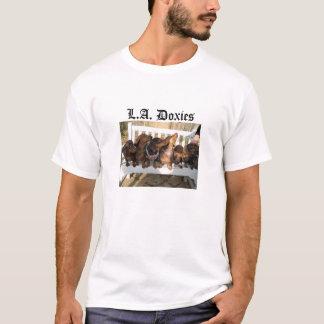 L.A.Doxies Logo2 - Landscape Mens T-Shirt
