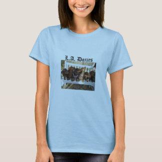 L.A.Doxies Logo2 - Landscape Womens T-Shirt