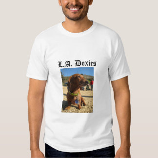 L.A.Doxies Logo2 - Portrait Mens Shirt