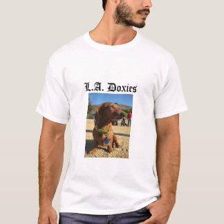L.A.Doxies Logo2 - Portrait Mens T-Shirt