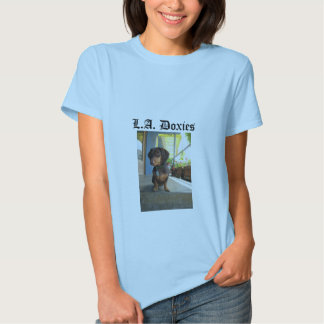 L.A.Doxies Logo2 - Portrait Womens Shirt