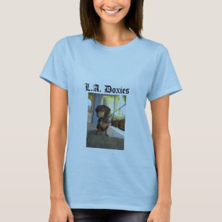 L.A.Doxies Logo2 - Portrait Womens T-Shirt