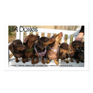 L.A.Doxies [Napoleon] Business Card