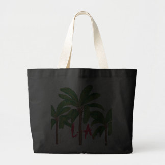 L A extra large canvas tote Bag