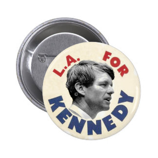 L.A. for Kennedy Satire Button