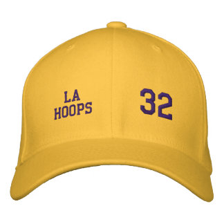 L.A. Hoops - Los Angeles Embroidered Baseball Cap