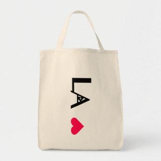 L.A.LOVE Farmer's Market Organic Tote Bag