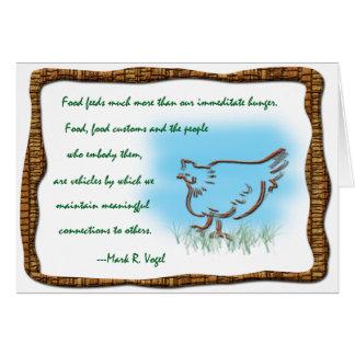 L.A.'s Frickin' Chicken Recipe Card