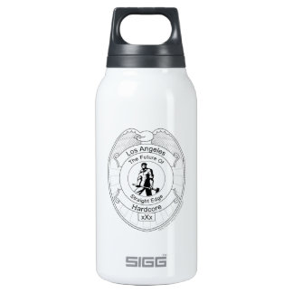L.A. Straight Edge Hardcore Thermos Bottle