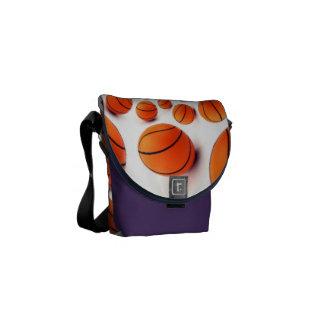l ama baloncesto el juego del bolso de los bolsas messenger