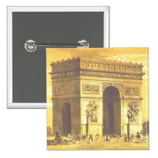 L Arc de Triomphe Paris 1840 Pin