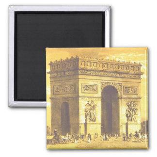 L Arc de Triomphe Paris 1840 Magnets