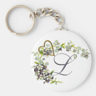 L as in Love_edited-1 Basic Round Button Keychain