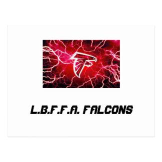 L.b.f.f.a. Falcons Under 8 Postcard