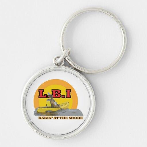 L.B.I Kakin' At The Shore Key Chains