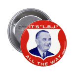 L.B.J. - Botón Pin