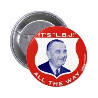 L B J - Botón Pin
