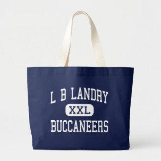 L B Landry - Buccaneers - Senior - New Orleans Tote Bags
