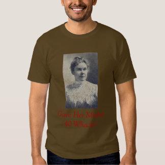 L_Borden, Gave Her Mother 40 Whacks! T-shirt