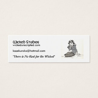 l_cb9c7b93e7bddd4cda39731fb055e77b, Wicked Stud... Mini Business Card