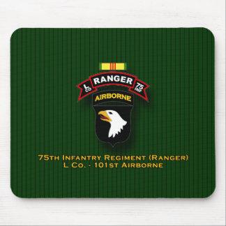 L Co, 75th Infantry - Ranger - 101st Abn - Vietnam Mouse Pad