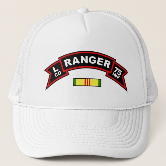 L Co, 75th Infantry Regiment - Rangers Vietnam Trucker Hat