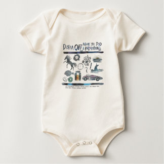 L concurso de Dorca de la vaina Body Para Bebé