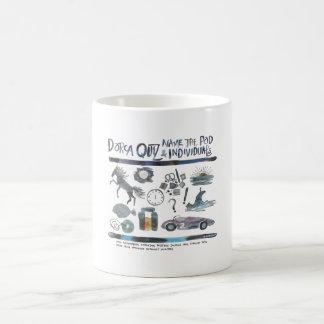 L concurso de Dorca de la vaina Taza De Café