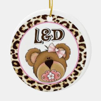 l & d nurse - labor and delivery ceramic ornament
