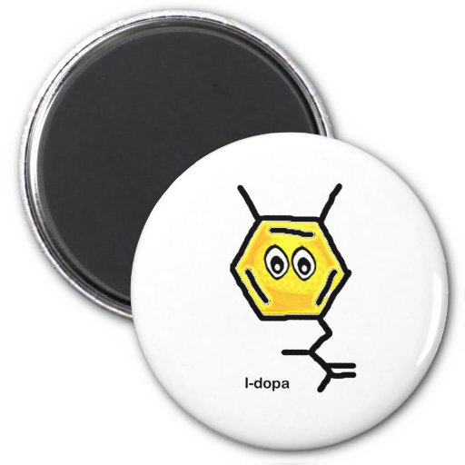 L-Dopa 2 Inch Round Magnet