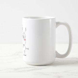 l-dopa and dopamine classic white coffee mug