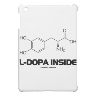 L-Dopa Inside (Levodopa Chemical Molecule) Case For The iPad Mini