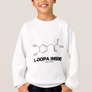 L-Dopa Inside (Levodopa Chemical Molecule) Sweatshirt