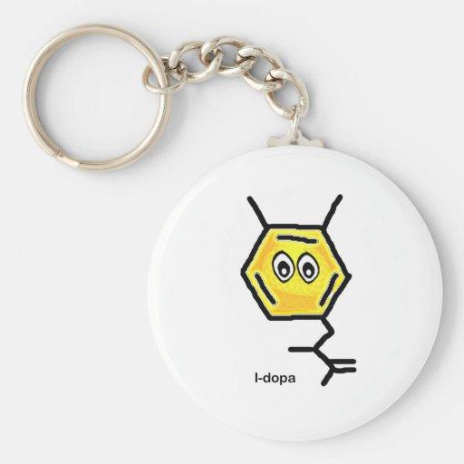 L-Dopa Keychain