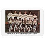 L: Equipo 1972 de Derby del rodillo de los dólares Iman De Vinilo