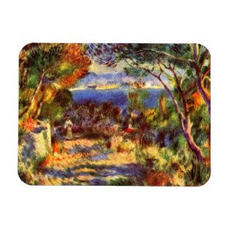 L Estaque por Renoir arte del impresionismo del Imanes De Vinilo
