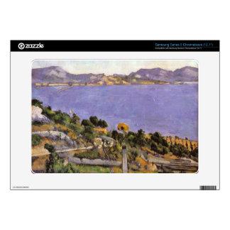 L Estaque vue du golfe de Marseille 1878 - Cezanne Samsung Chromebook Decal
