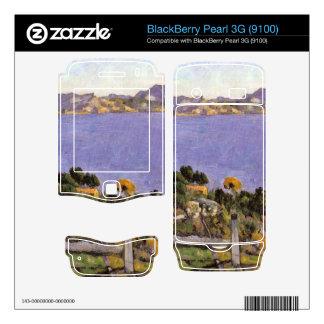 L Estaque vue du golfe de Marseille 1878 - Cezanne BlackBerry Decal