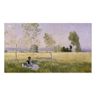 L'Ete' (The Summer) - Claude Monet Double-Sided Standard Business Cards (Pack Of 100)