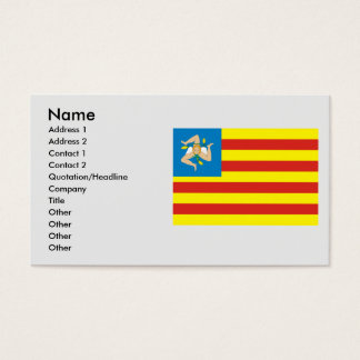 l FNS, Italy Business Card