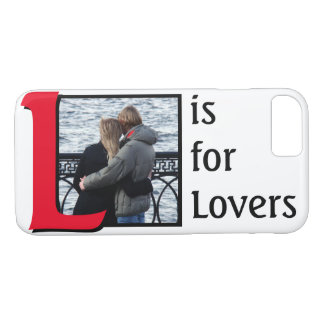 L for Lovers iPhone 7 Case